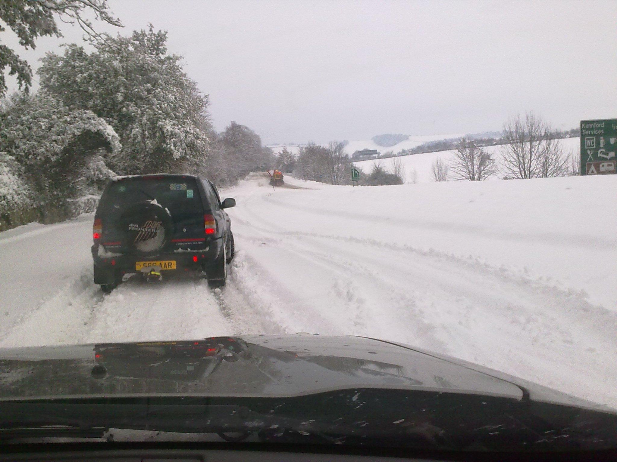 DSRT Ashburton respond to Haldon Hill snow event 2010