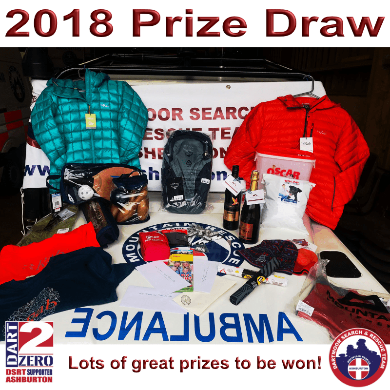 Lots of great prizes to be won in our 2018 Fundraising Prize draw