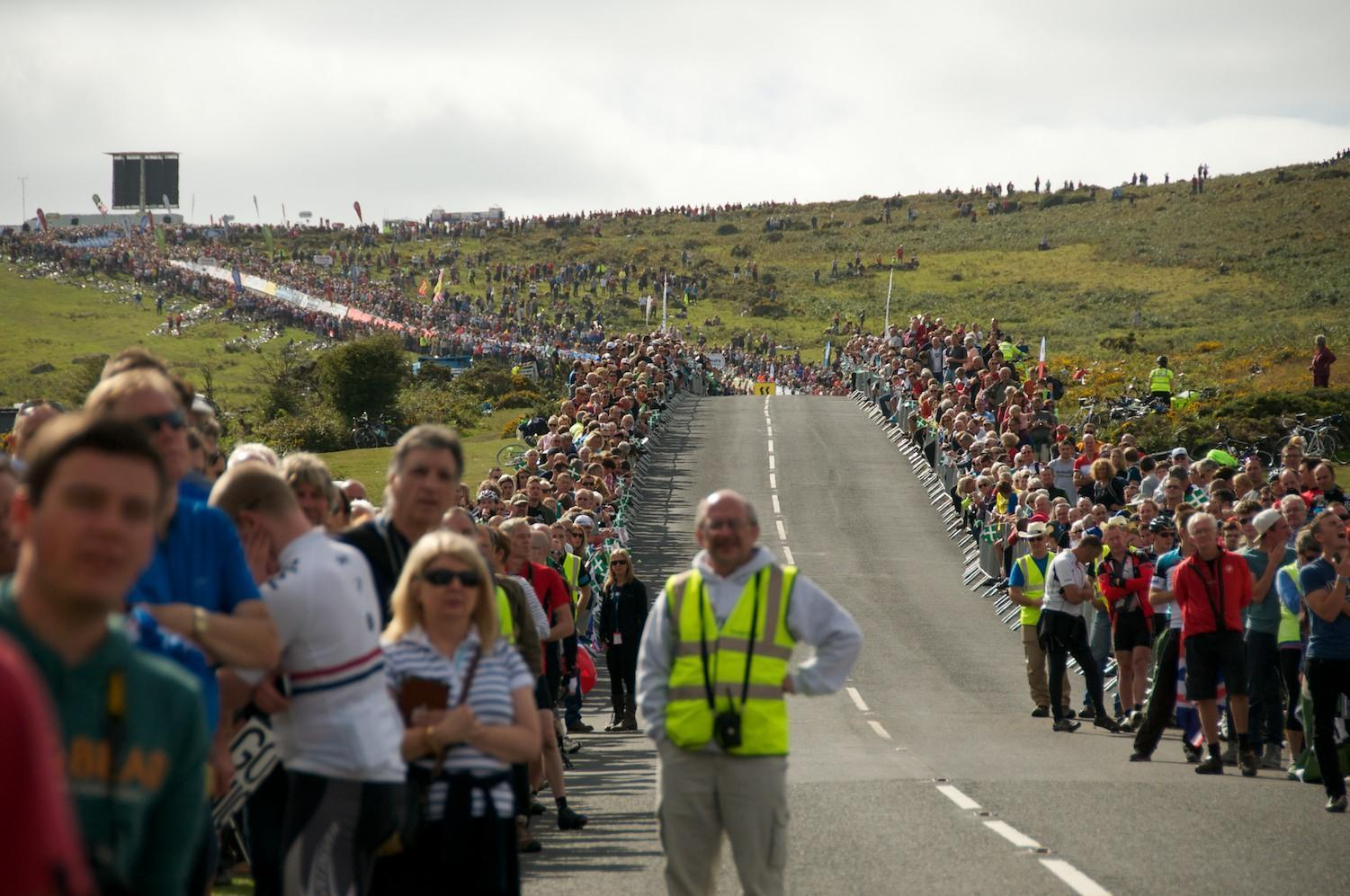 tour of britain Haytor King of the Mountains finish 2013