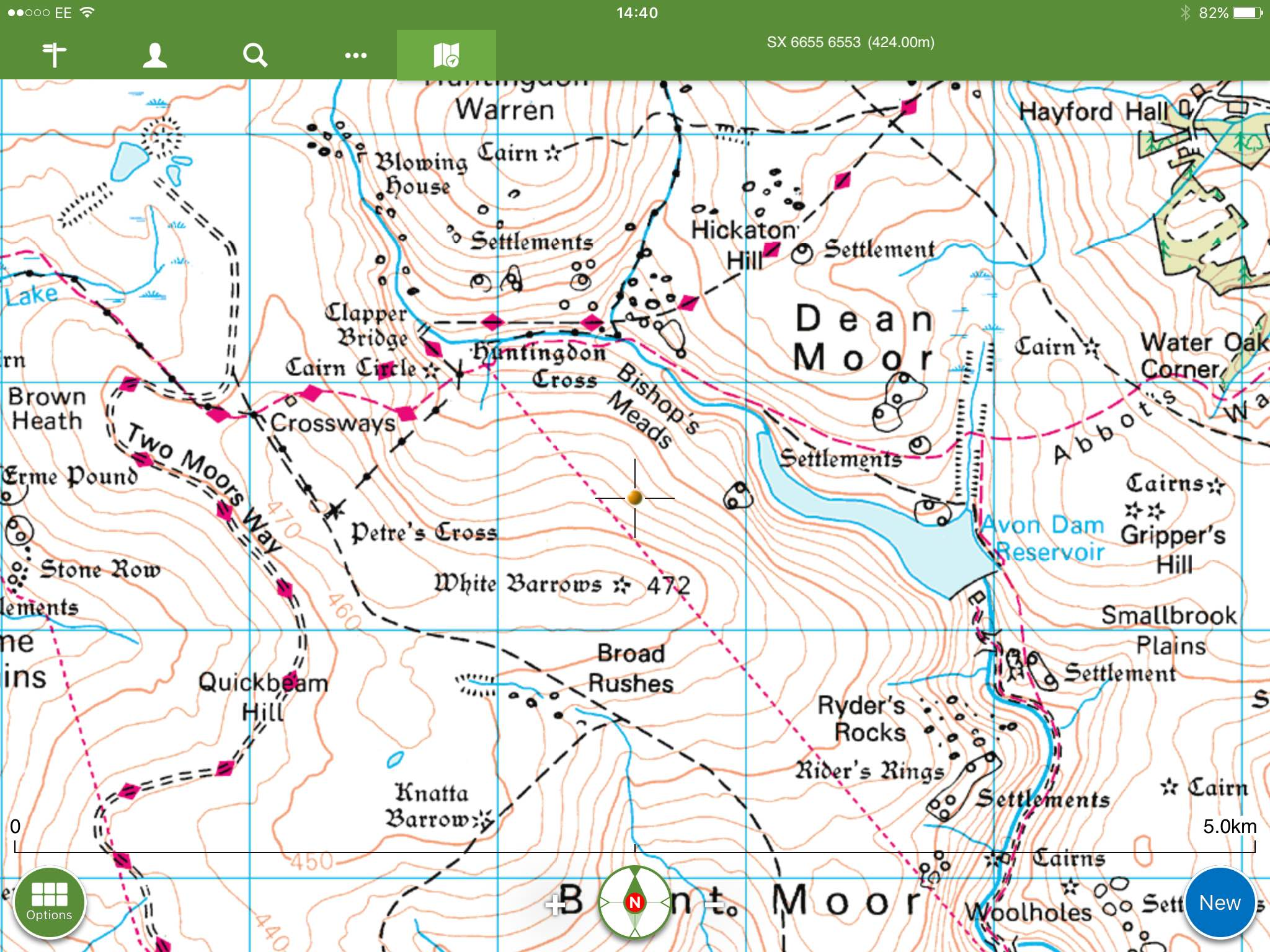 Dartmoor Search and Rescue Ashburton called out to assist a missing walker near Eastern White Barrow
