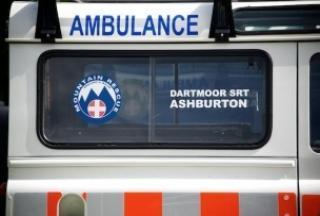 Dart62, Dartmoor Search and Rescue Ashburton's crew landrover ambulance