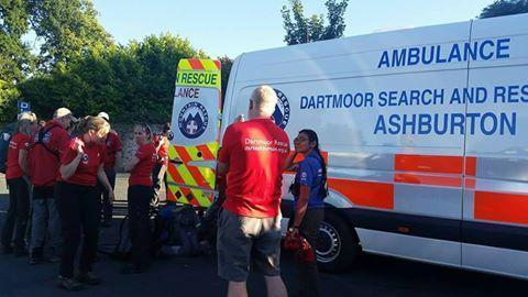 Dart02 the Dartmoor Search and Rescue Ashburton incident control vehicle on site at Babbacombe Model Village