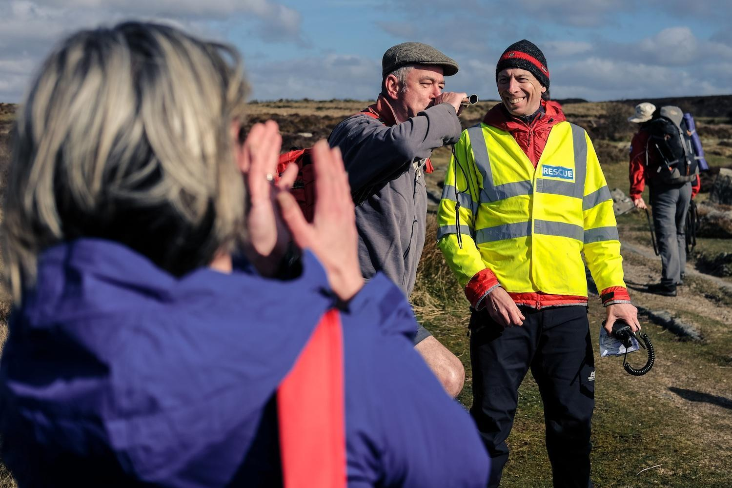 Dartmoor Search and Rescue Ashburton's Templer Way fundraiser