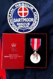 Queens Diamond jubilee medal presented to Dartmoor Search and Rescuers