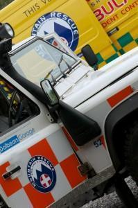 Dartmoor Search and Rescue Ashburton emergency vehicles