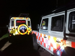 Teign Valley search for missing male