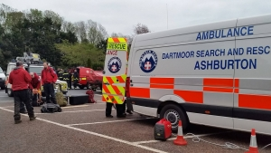 Injured kayaker sparks search in upper River Dart valley