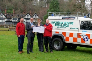 Gidleigh Park Michelin diners raise funds for Dartmoor charity