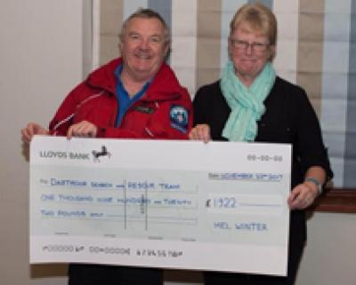 Bovey golfers fundraising success for Dartmoor charity