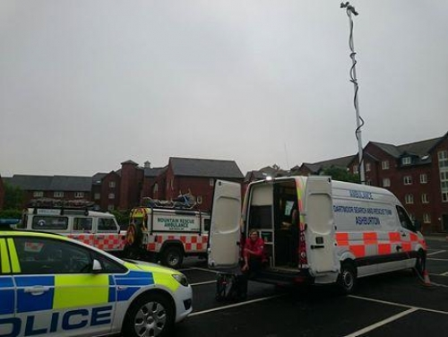 Exeter search finds a body