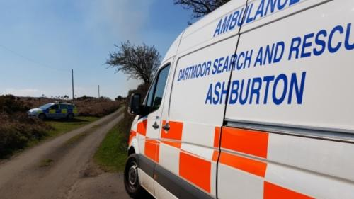 Missing person vehicle found on Mardon Down.