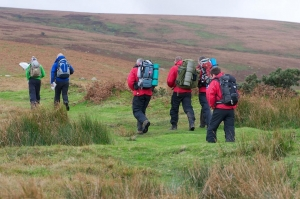 Teenage boys rescued wet and cold from the south moor