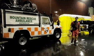 From moor to sea in aid of rescuers